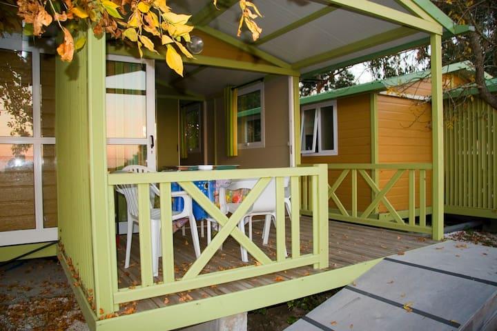 Casa de madera frente al mar - Rianxo - Nature lodge
