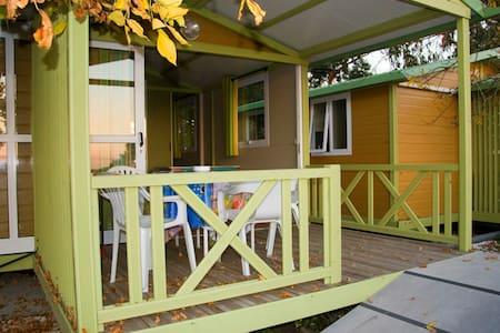 Casa de madera frente al mar - Rianxo - Allotjament sostenible a la natura
