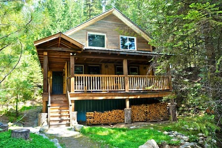 Logden Lodge - Gold Cup Cabin - Ymir