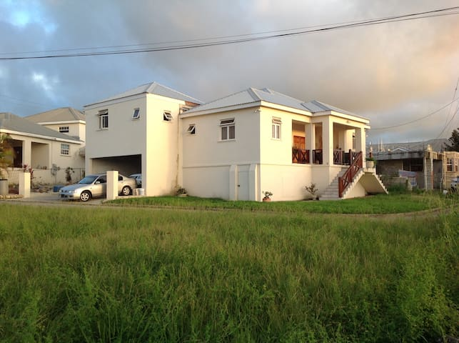 modern property with sunset view & close to beach.