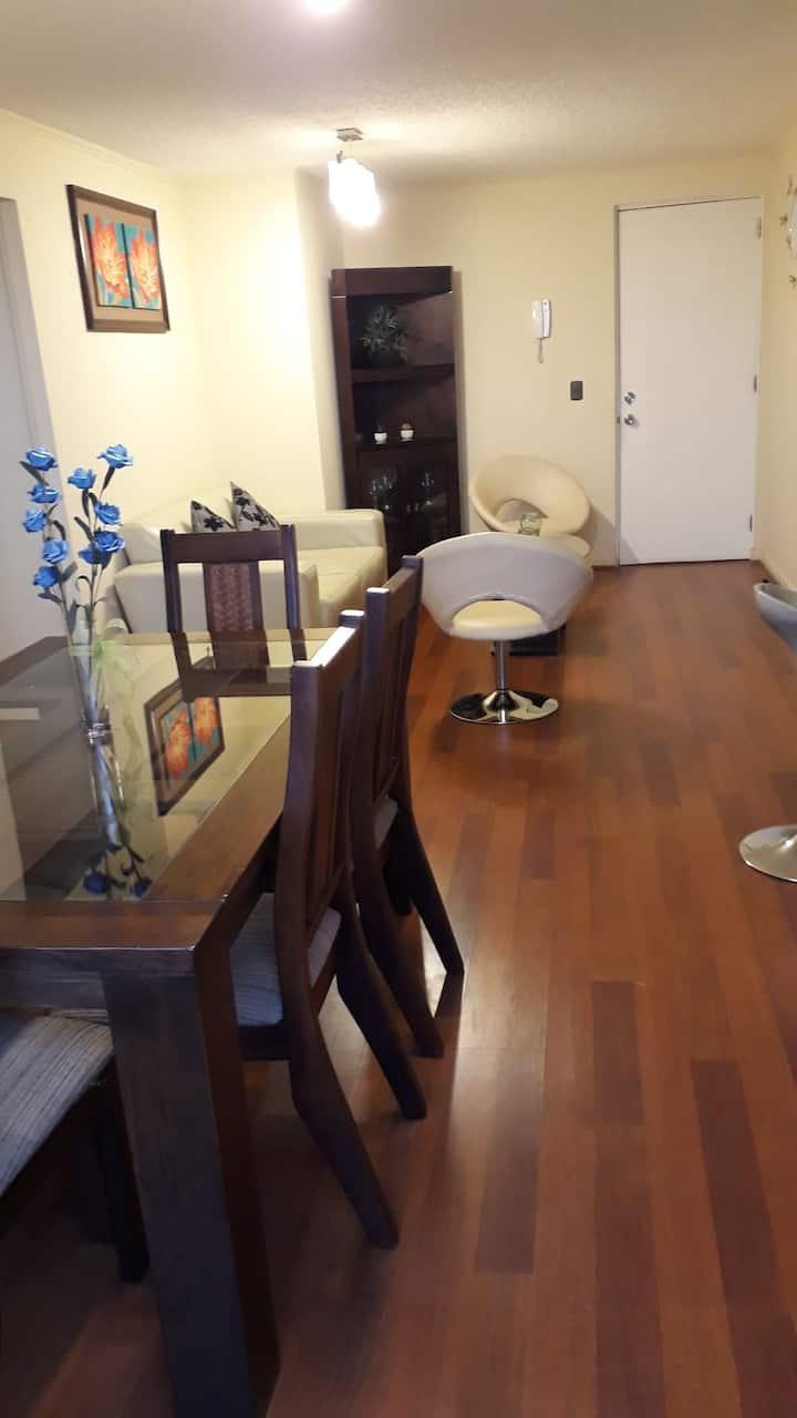 Dpto Completo Plaza las Heras. 2 habitaciones