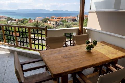 Sea View Apartment Grek Nea 4