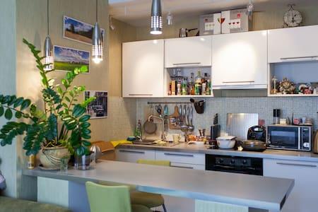 Просторная однокомнатная квартира с кухней