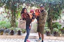 Mr Vijay and family , UK