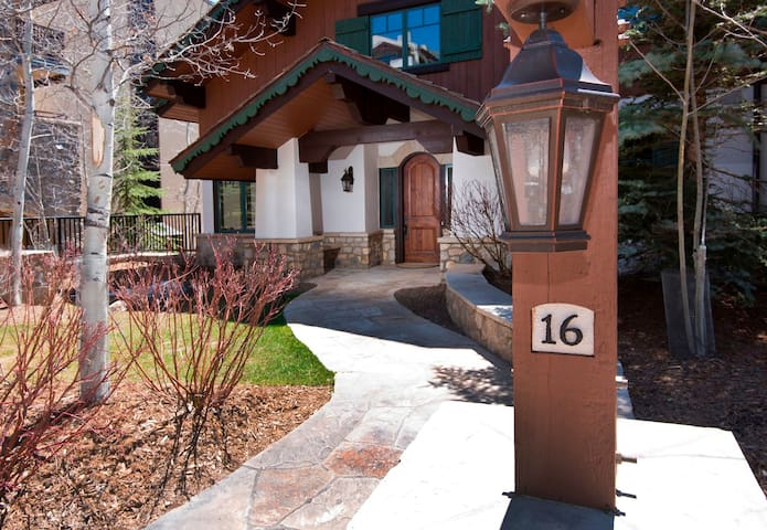 Gorgeous 5 Br Private Home in Vail; private hot tub - Vail - Íbúð