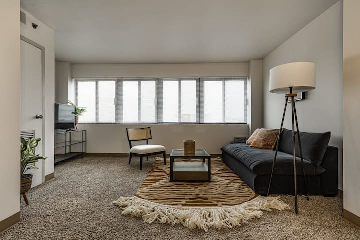 Viagem 1BR Downtown with View 15min to Hersheypark
