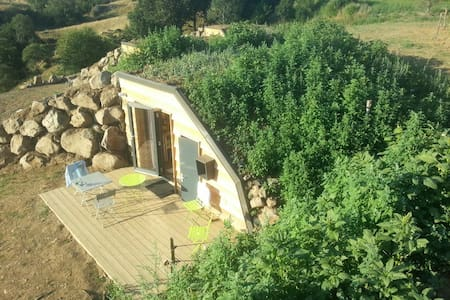 Lodge insolite Collinéa 1 - Saint-Urcize - Earth House
