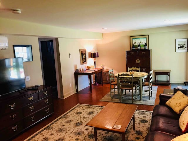 Cozy, spacious suite in South Burlington