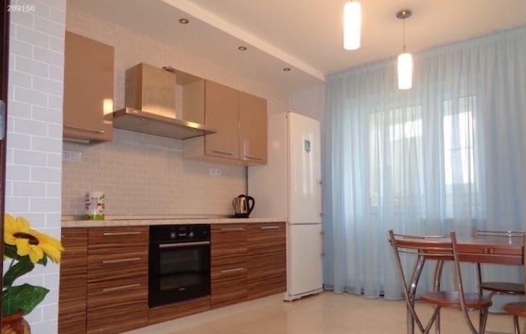 Уютная двушка в новом доме - Podolsk - Daire