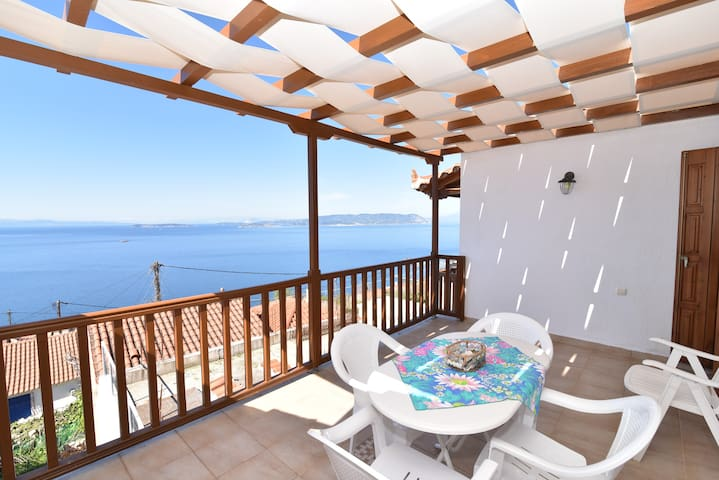 Sea view house in OldKlima Skopelos.OLKL-evak - Klima - House