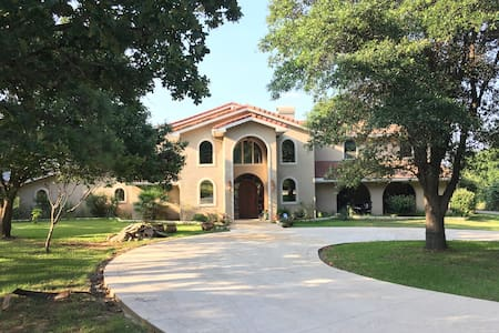 Dallas Dream Mansion on the Lake Front. - Highland Village - Willa