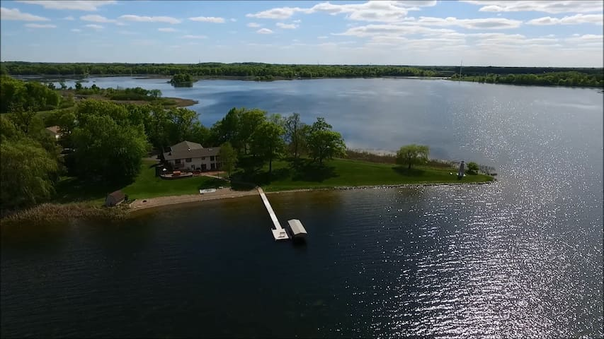 Tranquility on Green Lake - Chisago City - Houten huisje