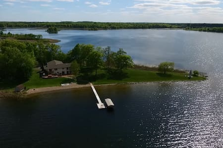 Tranquility on Green Lake - Chisago City - Cottage