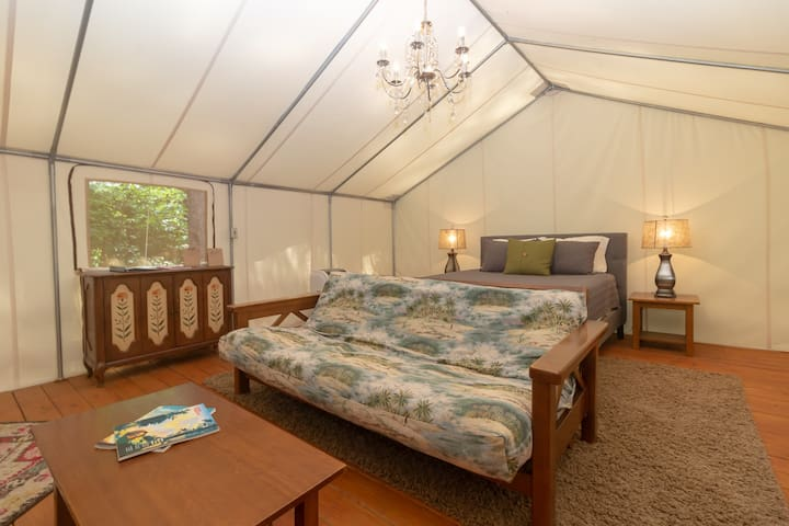"Glamping at Copperhill - ""The Prospector"""
