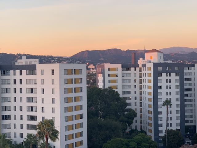 Affordable private bd in the heart of LA with view