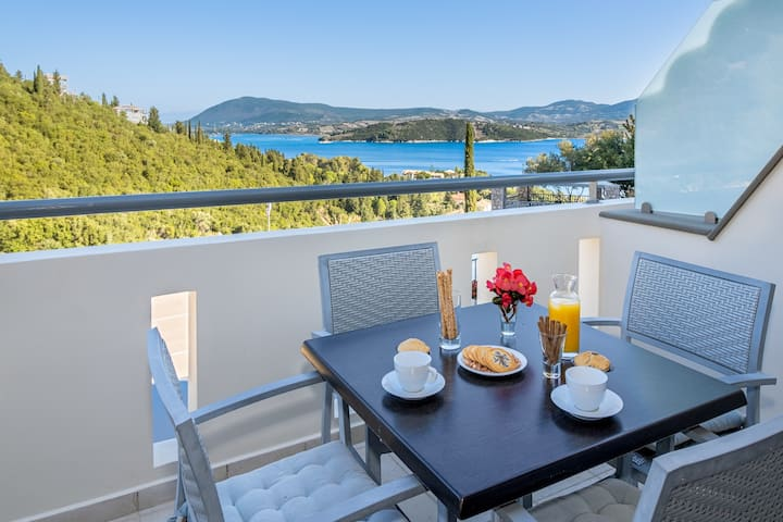 OFFER-20% Sea-view studio with everything you need