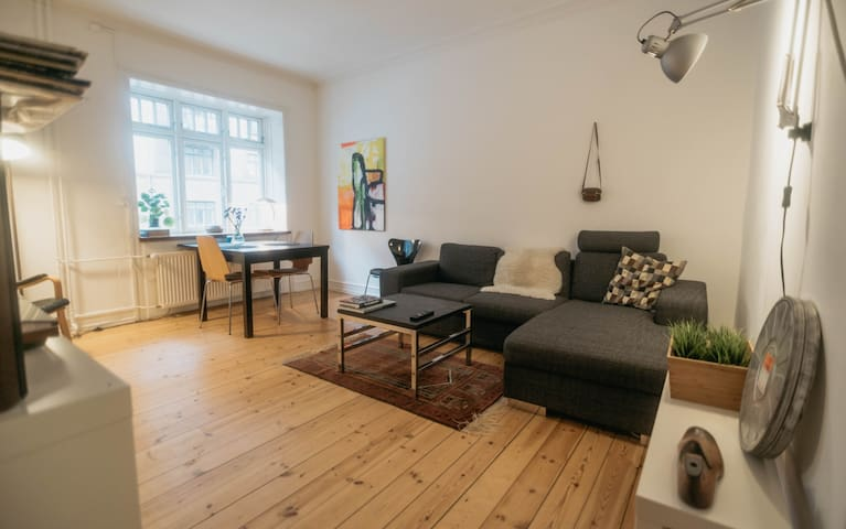 Cosy 2 room apartment in Copenhagen - metro nearby