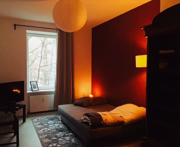 Quiet and cozy room in Berlin Mitte