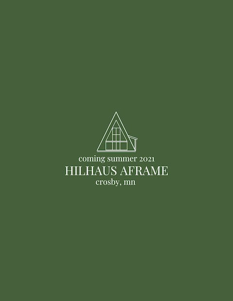 New! Hilhaus Aframe //\\ Crosby, MN