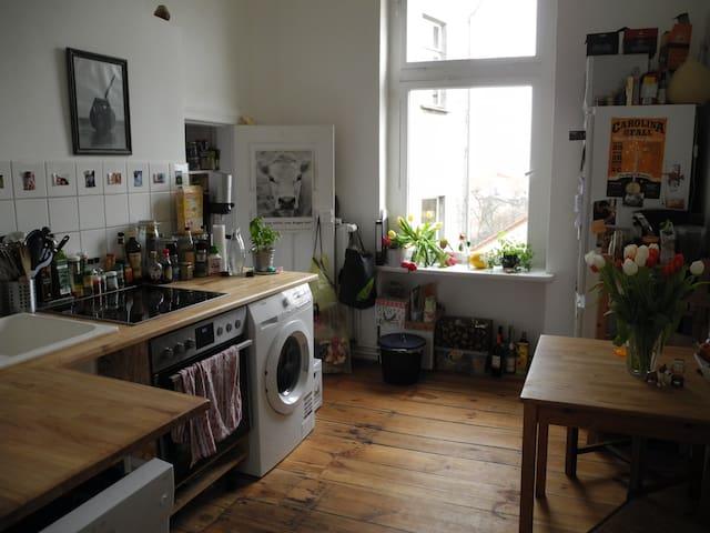 Altbauwohnung mit Charme - Oranienburg - Apartment