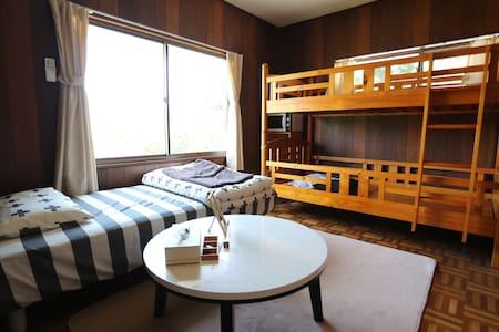 九大伊都キャンパスへアクセス便利【洋室:classic Japanese house】駅から徒歩7分