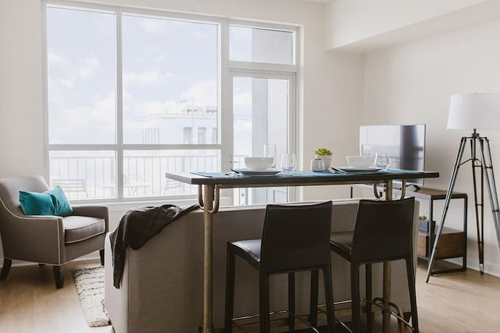 WhyHotel 1BR/1BA LUXURY APT near Inner Harbor