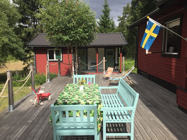 Charming vacation home in Roslagen.