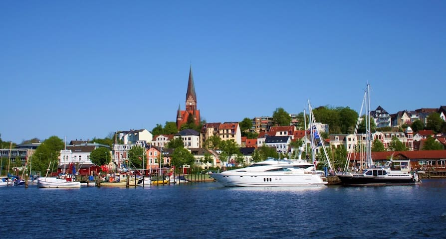 Near the beach - discover Solituede and Flensburg