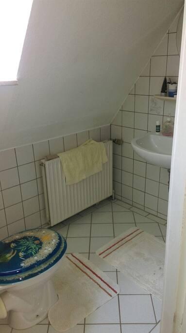 Dusche,WC.