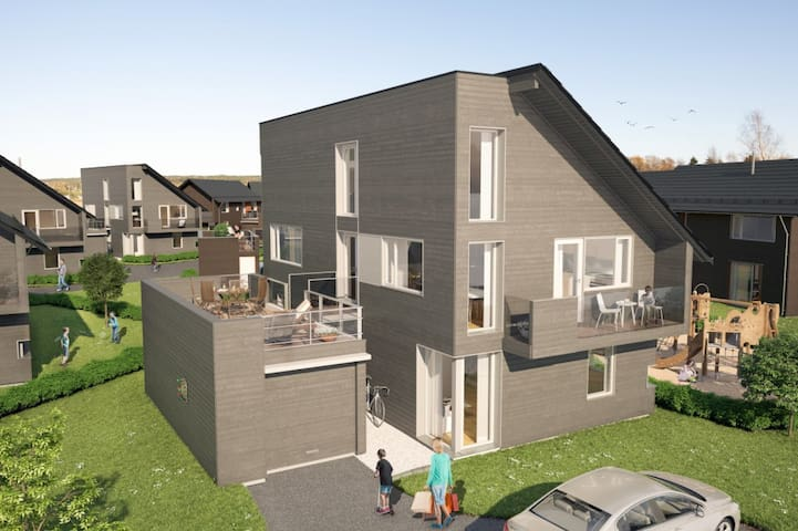 Bryggerhagen - Tomter - Casa