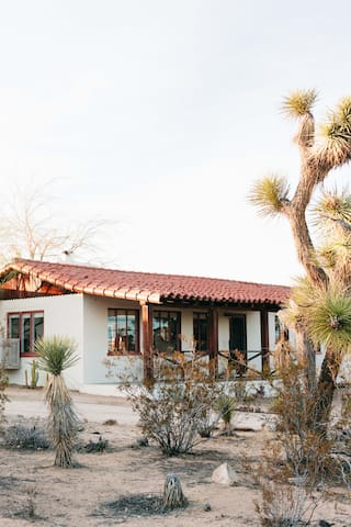 The Joshua Tree House, as featured on Apartment Therapy (photo by Ellie Lillstrom)