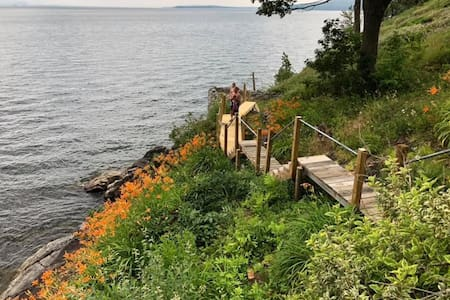 Secluded Home on Beautiful Lake Champlain