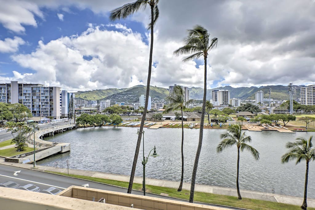 A block away from Waikiki Beach, this home will provide you with endless fun in the sun!