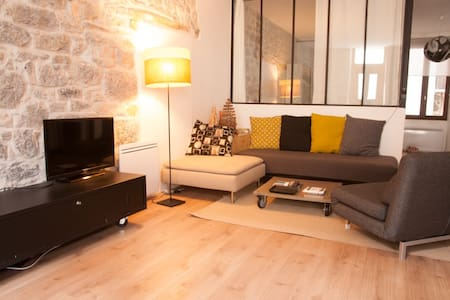 50m2 of charm in city center - Apartment