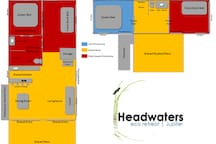 The Layout of our Eco Retreat