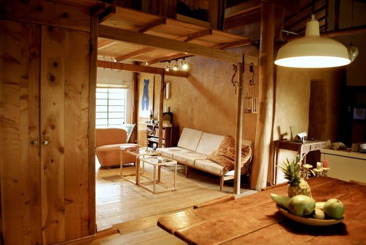 Organic cabin in Carmen de Viboral - Vereda Rivera - Houten huisje