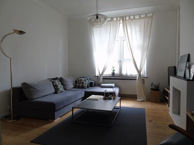 Charming 2 bedrooms apartment in Brussels! 80sqm - Uccle - Apartament