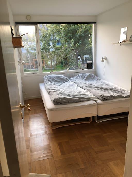 Værelse 1 med 2 senge