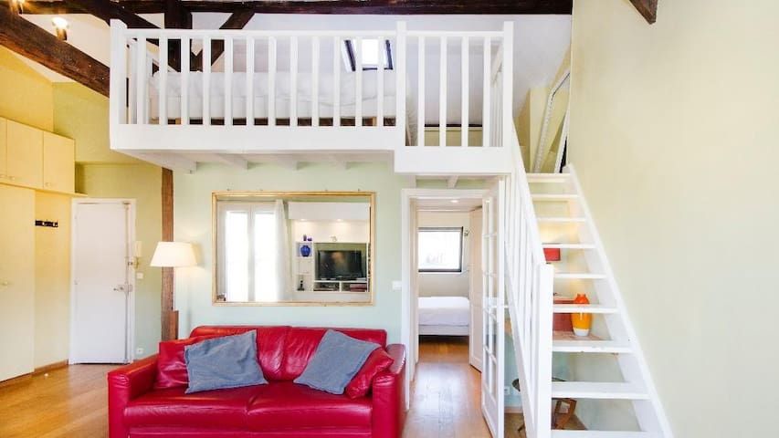Delightful 1 Bedroom Apartment Next to the Eiffel Tower