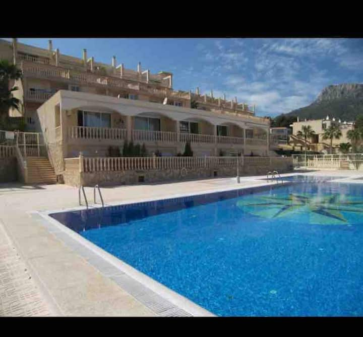 Calpe, cala Manzanera,piscinas,parking, vistas 117