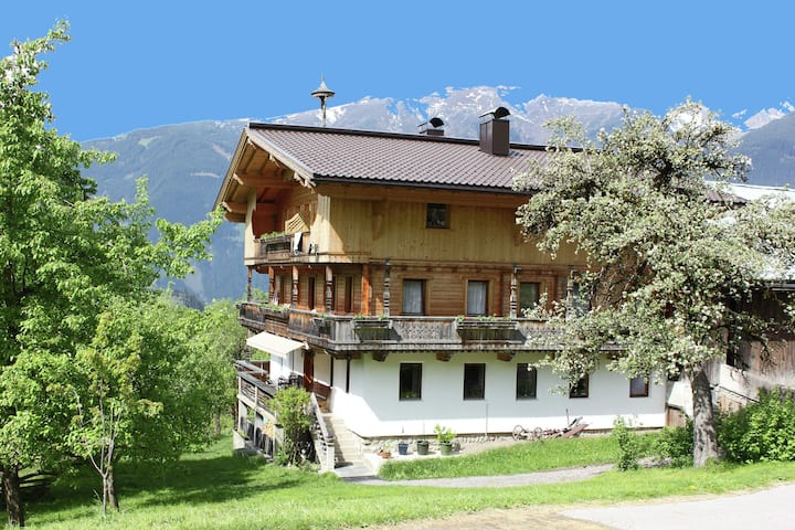 Farmhouse in Gerlosberg with Balcony, Garden, BBQ, Parking