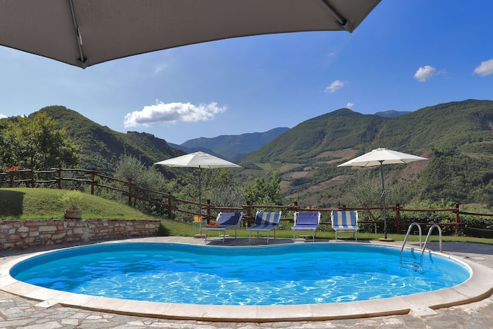 VILLA COLOMBAIA - Private house, pool, Le Marche