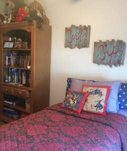 Clean and Cozy XL Twin Bed - House