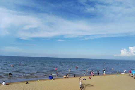 海口临高角金沙滩旅游度假风景区270°亲海公寓、一线海景、免费泳池