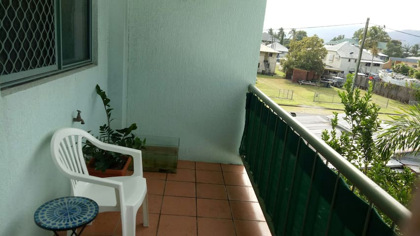 balcony  to hang around