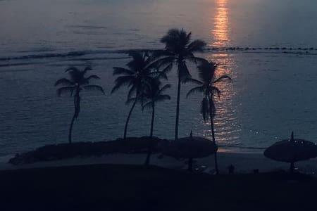 Hermoso apartamento Playa Escondida en el Caribe