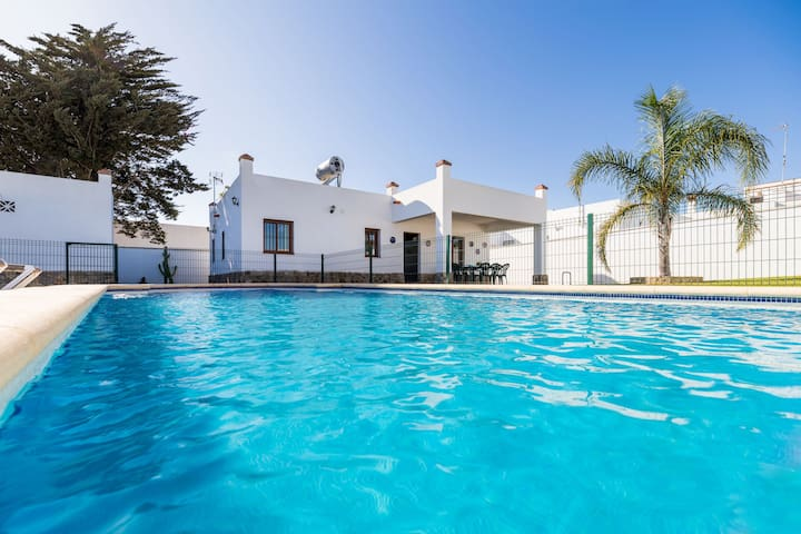 """Holiday Home """"Villa CA1"""" with Pool, Garden, Terrace & Wi-Fi; Parking Available, Pets Allowed"""