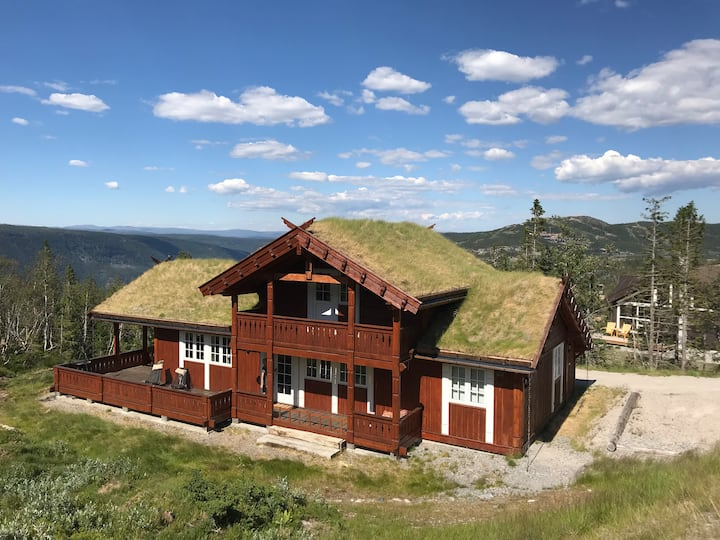 Gaustablikk Mountain Lodge. Close to Gaustatoppen