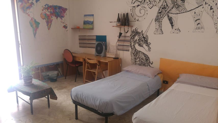 Art students room