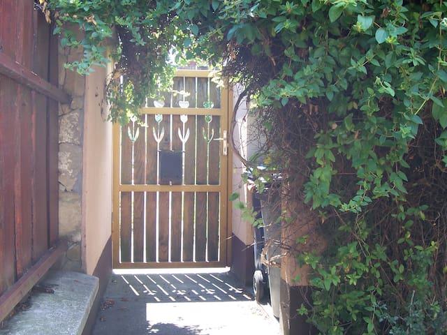 entrance door inside